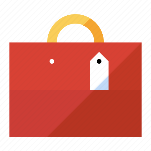 bag, ecommerce, gift, purchase, shopping, store icon