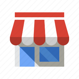 building, ecommerce, salon, shop, store icon