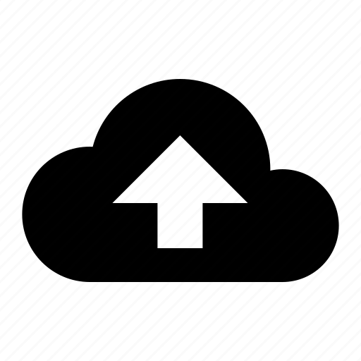 cloud, internet, media, share, storage, upload icon