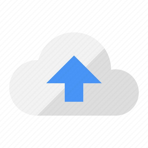 cloud, internet, media, share, storage, upload icon