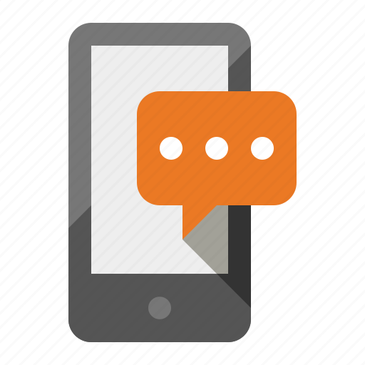 android, chat, device, phone, sms, text message icon