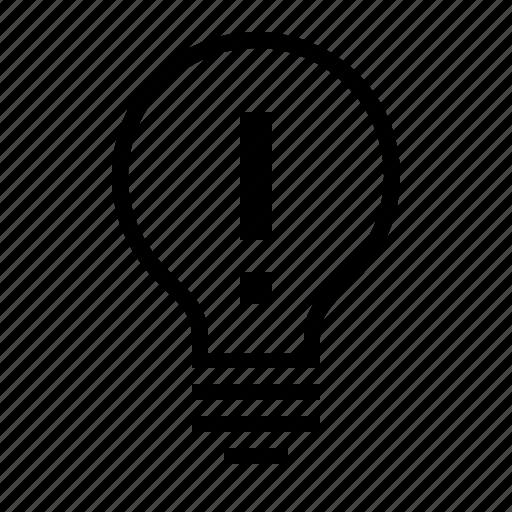 bright, bulb, creative, idea, imagination, light icon