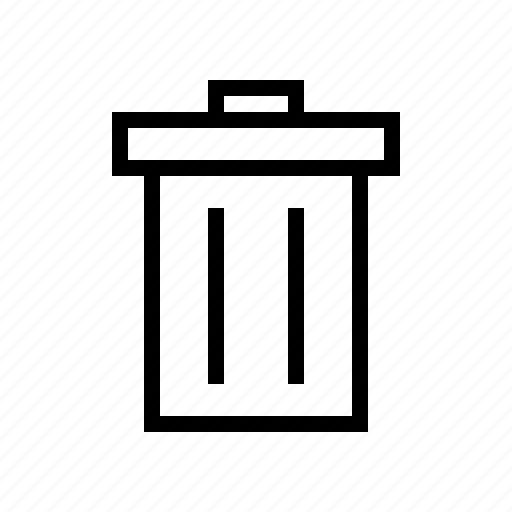 delete, garbage, remove, trash, wastebin icon