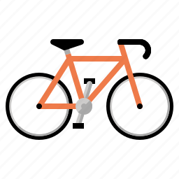 bicycle, bike, cyclist, exercise, fitness icon