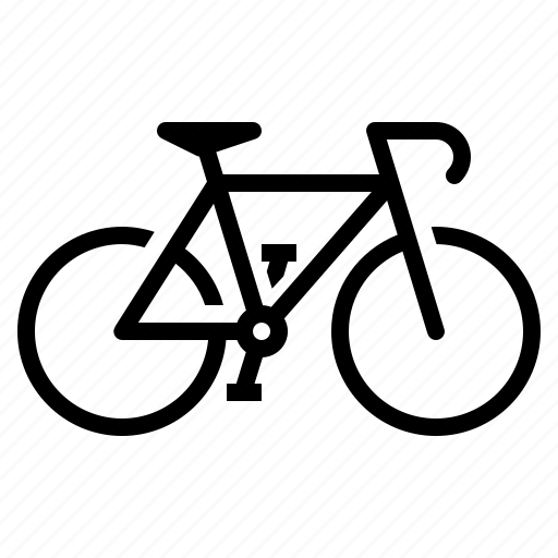 bicycle, bike, cycling, exercise, fitness icon