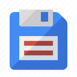 disk, floppy, guardar, memory, save, storage icon