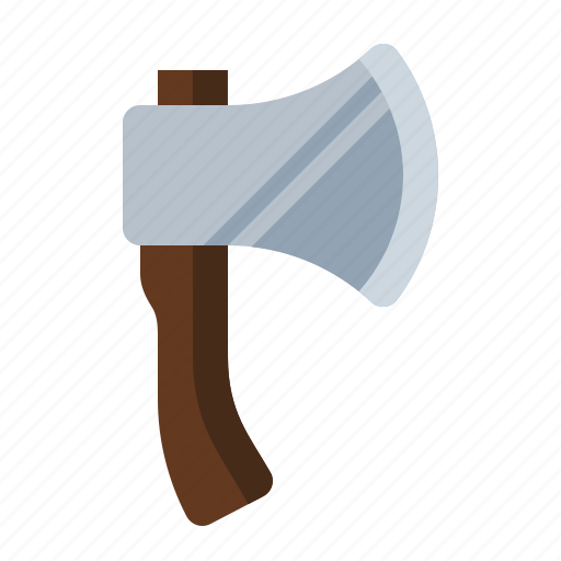 ax, camping, chop, firewood, hatchet, wood icon