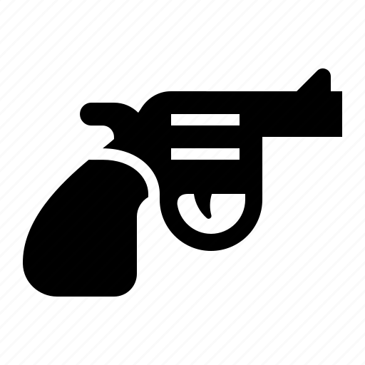firearm, gun, pistol, revolver, weapon icon
