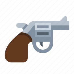 firearm, gun, pistol, revolver, weapon icon