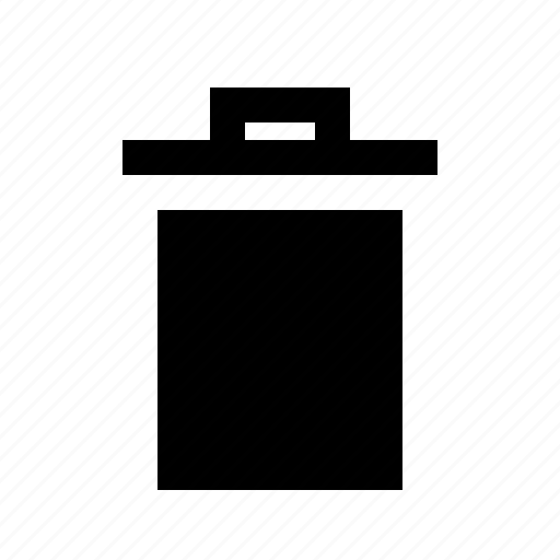 bin, delete, garbage, recycle, trash, waste icon