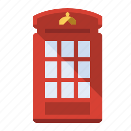 booth, call, phone, phone box, uk icon