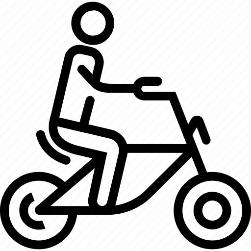 bike, cyclist, sport, travel, trip icon