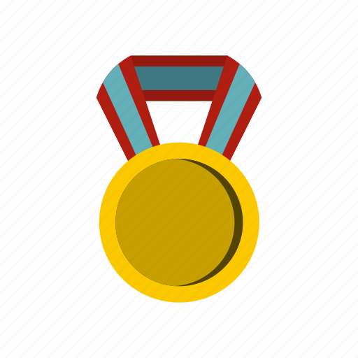 award, design, gold, label, medal, round, success icon