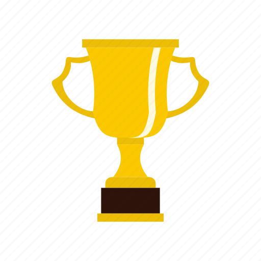 award, cup, design, gold, label, success, win icon