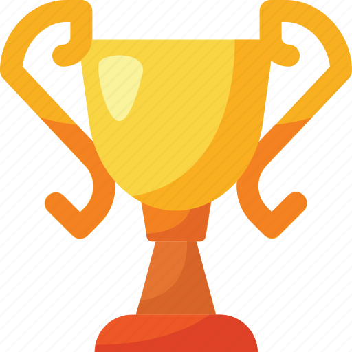 and, award, championship, colors, gold, trophy, winner icon