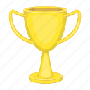 cartoon, competition, cup, silhouette, sport, trophy, winner icon