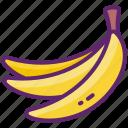 banana, fruit, healthy