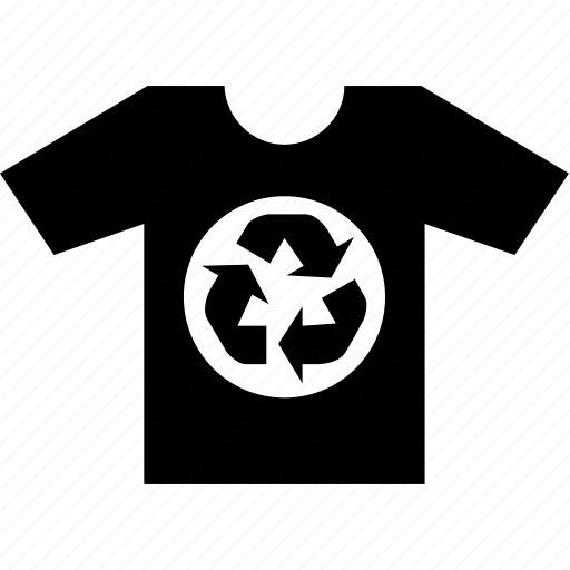 casual, print, recycle, tshirt, wear icon