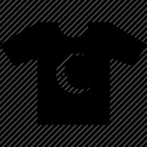 man, moon, night, print, tshirt, wear icon