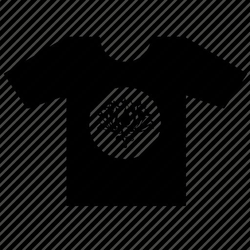 buddha, fashion, print, round, summer, tshirt, wear icon