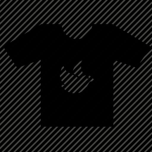 dove, fashion, print, tshirt, wear icon