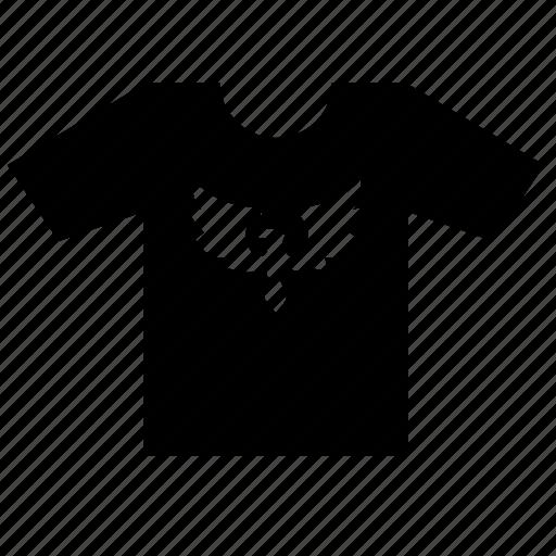 eagle, fashion, male, print, tshirt, wear icon