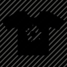 flower, print, tshirt, wear icon