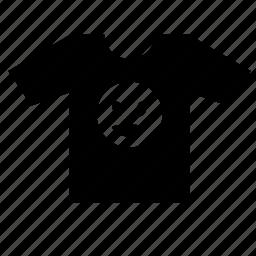 face, lucky, man, print, smiley, tshirt icon