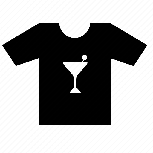 fashion, party, print, tshirt, wear icon