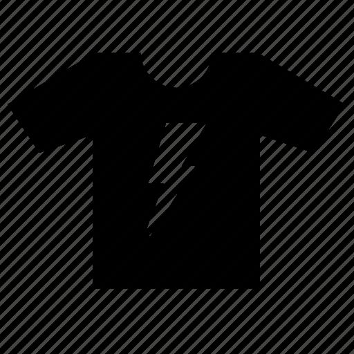 print, rock, shock, tshirt, wear icon