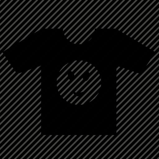 fashion, print, smiley, tshirt icon