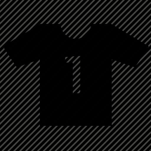 first, football, male, one, print, tshirt, wear icon