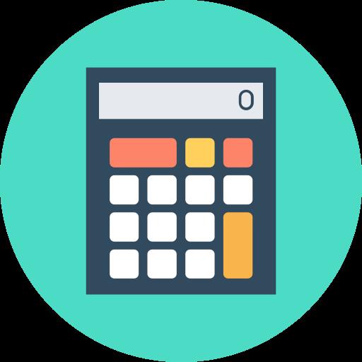 calculator, math tutor icon