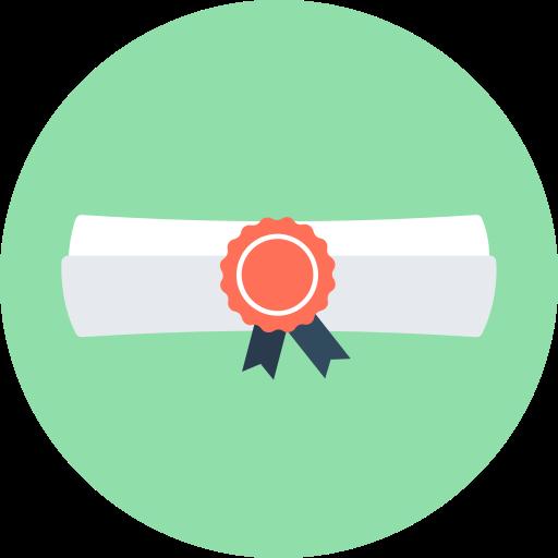diploma, graduate, graduation icon