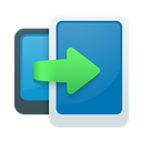 data, transfer icon