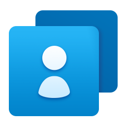 contacts, people icon