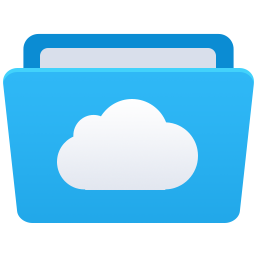 cloud, es, explorer, fm icon