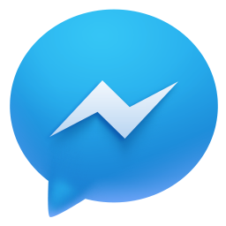 facebook, messenger icon