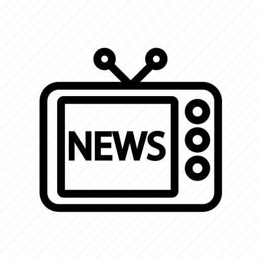 Tv, news, television, retro icon - Download on Iconfinder