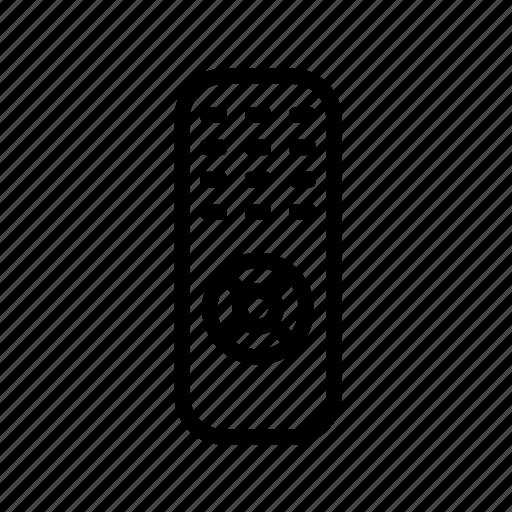 control, controller, remote control, tv icon