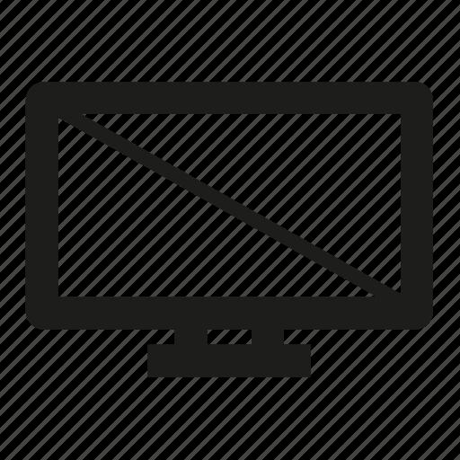 display, smart, television, tv icon
