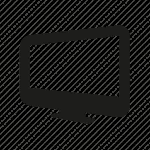 monitor, movies, television, tv icon