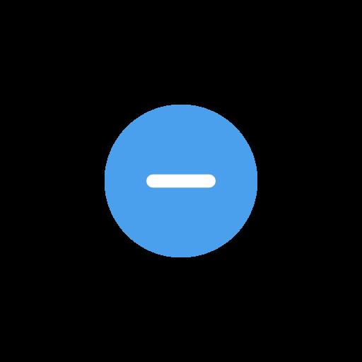 block, cancel, remove, setting icon