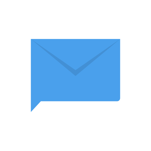 chat, envelope, inbox, message icon