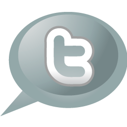 Bubble, twitter, speech icon