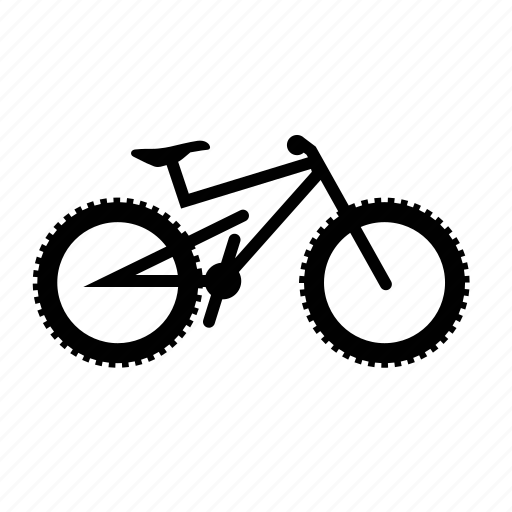 bicycles, bike, dh, downhill, enduro, full, suspension icon