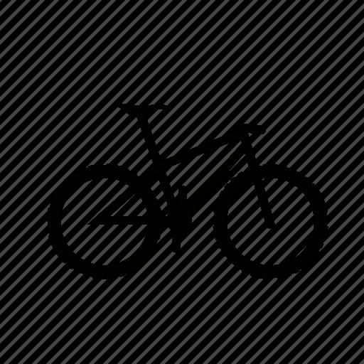 bicycle, bike, country, cross, cycle, velo, xc icon