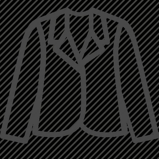 clothes, fashion, girl, jacket icon