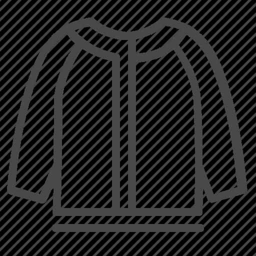 clothes, fashion, girl, jacket, knitwear icon