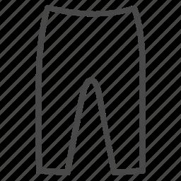 clothes, fashion, girl, leggings icon